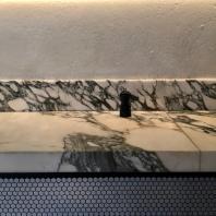 Marble details at Padella