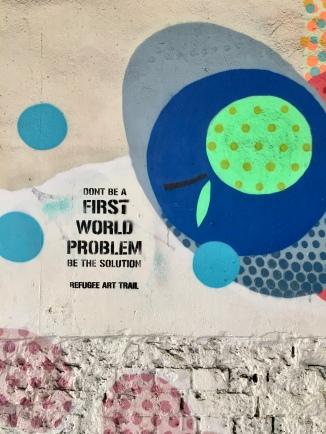 Colourful & edgy street art