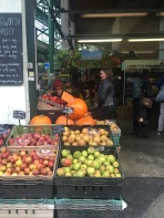 Market stalls photo bomb