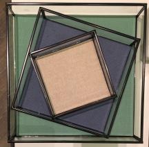 Liznylon styles retro trays in Oliver Bonas