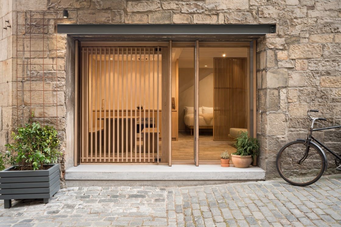 Minimalist haven in Edinburgh, Porteous Studio