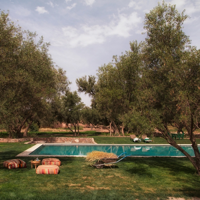 Source: Berber Lodge poolside