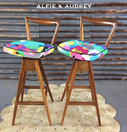 Alfie_and_Audrey_midcentury_revamp_with_Kitty_McCall_Tropical_landscape_fabric