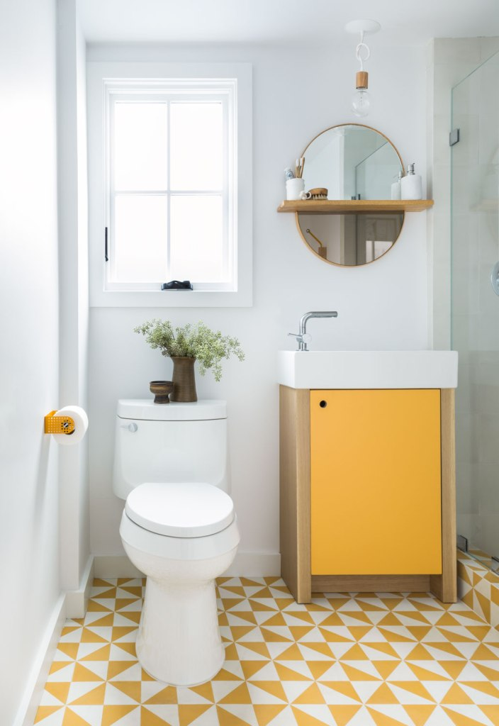 Clasen_GuestBath_by_Raili_CA_Design_Yellow