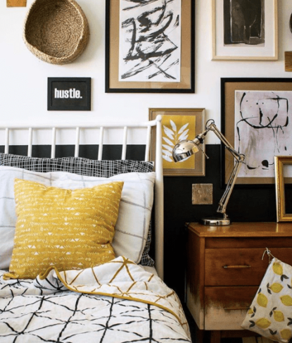 Grillo_Design_earthy_mustard_yellow_vibe_in_bedroom