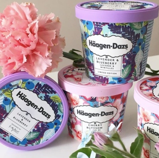 Haagen_Dazs_ice_cherry_blossom_icecream_with_Kitty_McCall_packdesign_EatCuteBlog_HongKong