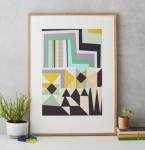 Kitty_McCall_Aso_Oke_Geometric_Art_Print