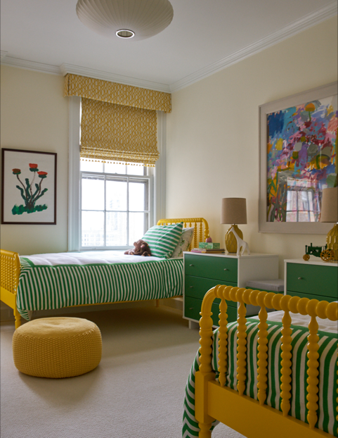 melissa_miller_interiors_yellow_and_green_bedroom