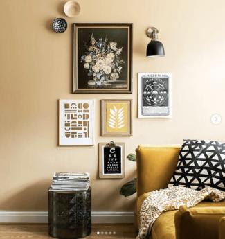 Mustard_Yellow_Sofa_in_GrilloDesigns_livingroom
