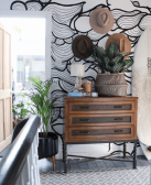 one-four-six-boho-wall-mural