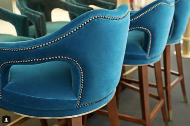 Source: Brabbu glamtastic bar stools
