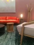 Dare_studio_midcentury_orange_velvet_sofa