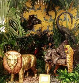 Brian Woulfe's mega inspiring jungle space