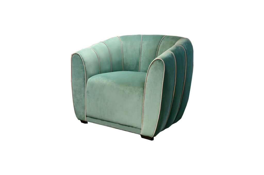Lacaze_london_Utopia-armchair_in_green_velvet