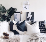 Pebbles_and_Peanuts_cosy_monochrome_sofa_and_art