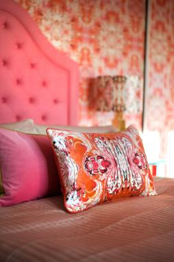 This space is packed full of texture, its vibrantly playful yet elegant source: Susi Bellamy