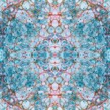 Deeply delicate - pietra blue fabric