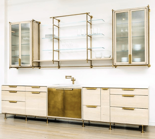 Amuneal_contemporary_kitchen_brass_and_reeded_glass_cabinet_doors