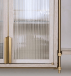 Amuneal_kitchen_cabinet_brass_and_reeded_glass_closeup
