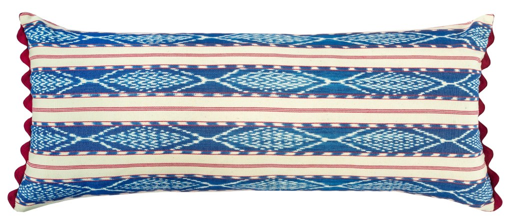 Antigua Stripe Cushion_Woven on a backstrap loom