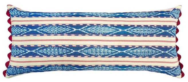 Antigua Stripe Cushion_Woven on a backstrap loom