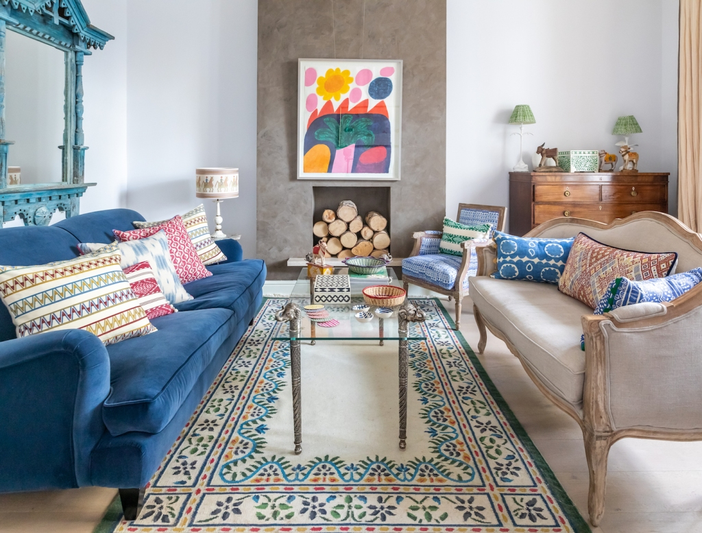 Wicklewood_Founder_Caroline_Home_Colourful_Lounge