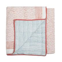 Wicklewood_QUILT_FLORAL_CORAL_and_blue_reversable