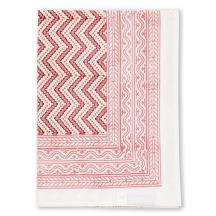 Wicklewood_Zigzag_tablecloth_in_Pink_and_Coral