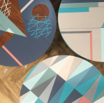 HappyRetroFurniture_signature_upcycled_midcentury_tables_painted