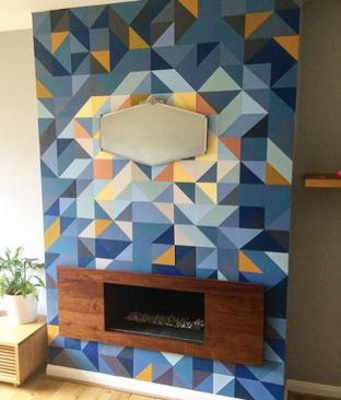 WallMural_by_Happy_Retro_Furniture_in_blues