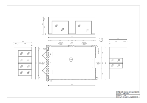 Liznylon_Auto_CAD_basic_floorplan_with_dimensions