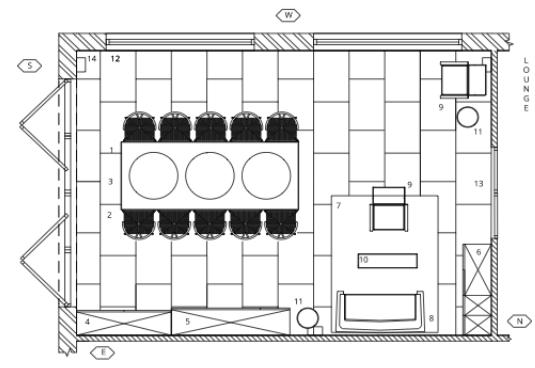 Liznylon_Auto_CAD_furniture_plan_with_elevations