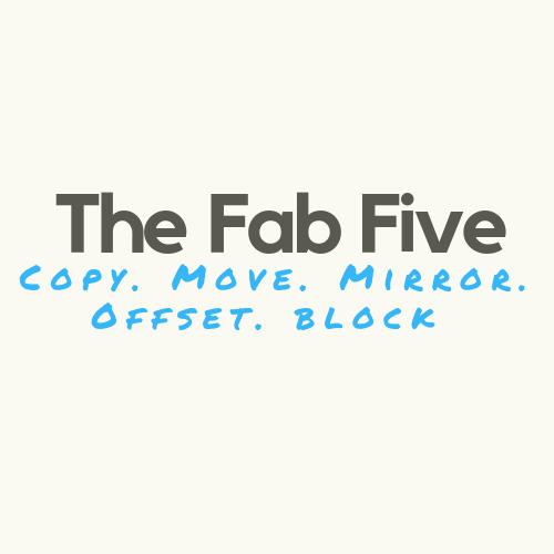 Liznylon_Auto_CAD_tips_and_Tricks_Copy_Move_Mirror_Offset_Block