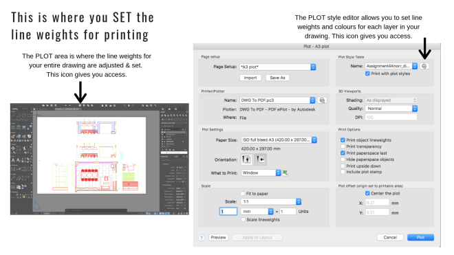 Liznylon_Auto_CAD_tips_and_Tricks_setting_lineweights_for_printing