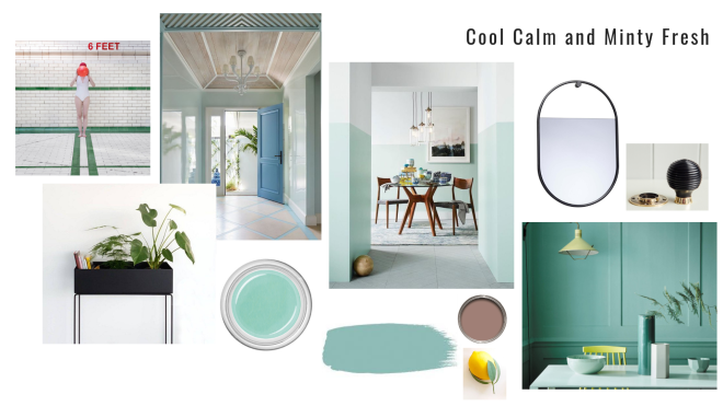 Liznylon_Hallway_Inspiration_Cool_Calm_Mint_Green_Fresh_Vibes