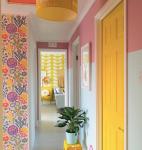 Rachel_Henderson_Studio_bright_hallway_with_fun_paint_effect