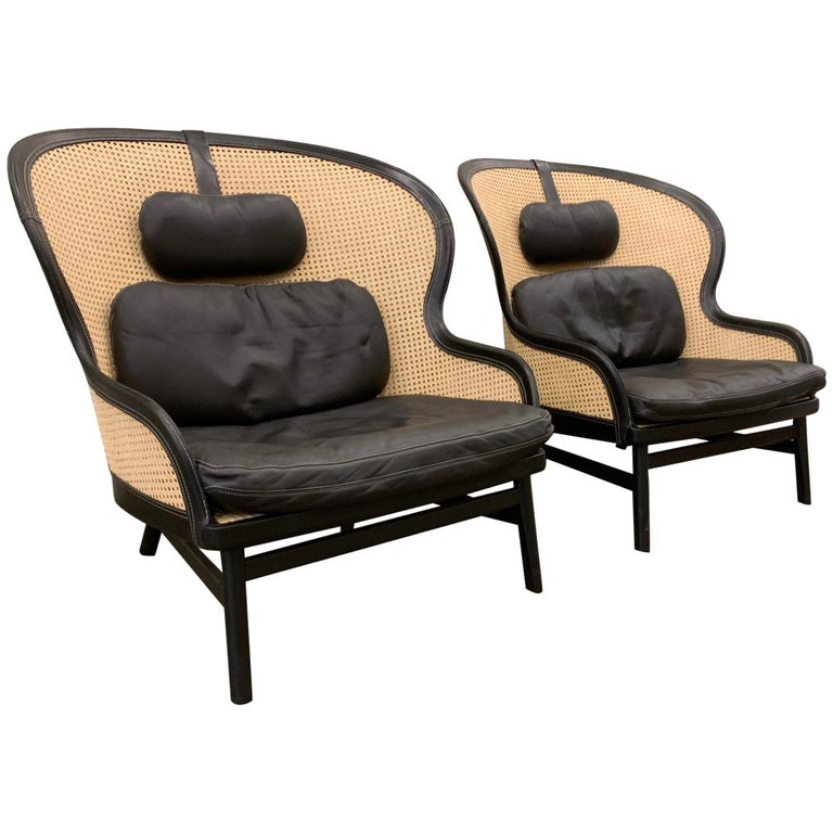 1stdibs_vintage_pierre_sindre_for_garsnas_cane_and_leather_chairs