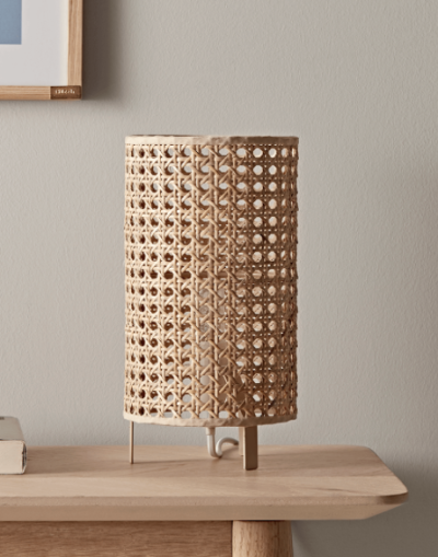 Cox_Cox_woven_cane_table_lamp