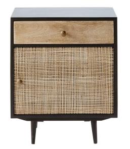Maison_Du_Monde_acacia-and-mango-wood-1-door-1-drawer-bedside-table-cane