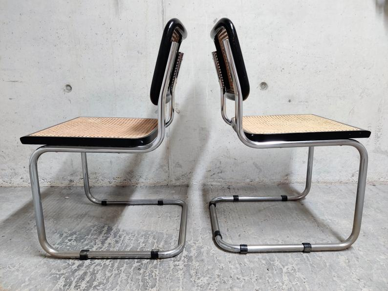 Vintiquesmidcentury_Marcel_Breuer_Cesca_Chair_black_and_Cane