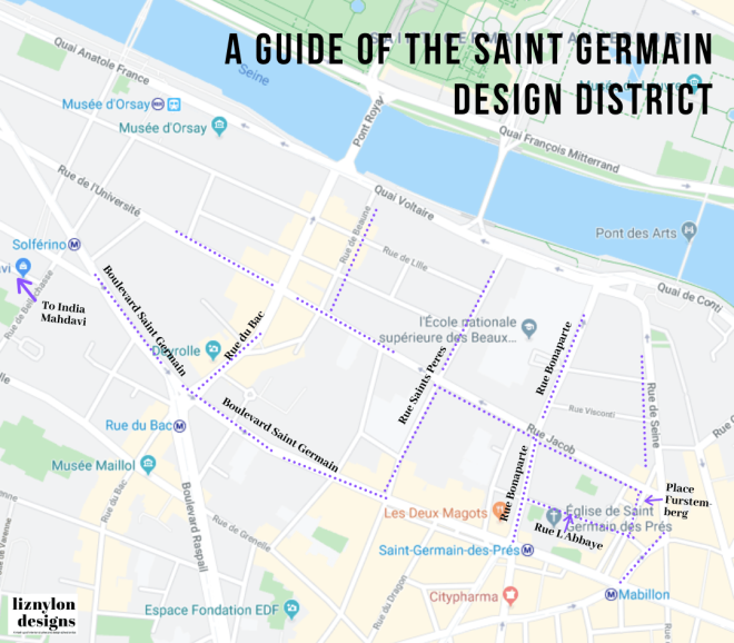 Liznylon_map_of_SaintGermain_Paris_Design_District