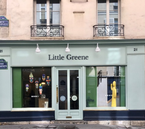 Liznylon_visits_Little_Greene_Paint_in_Paris