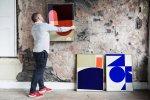 Jon_of_Formworksstudio_hanging_his_work