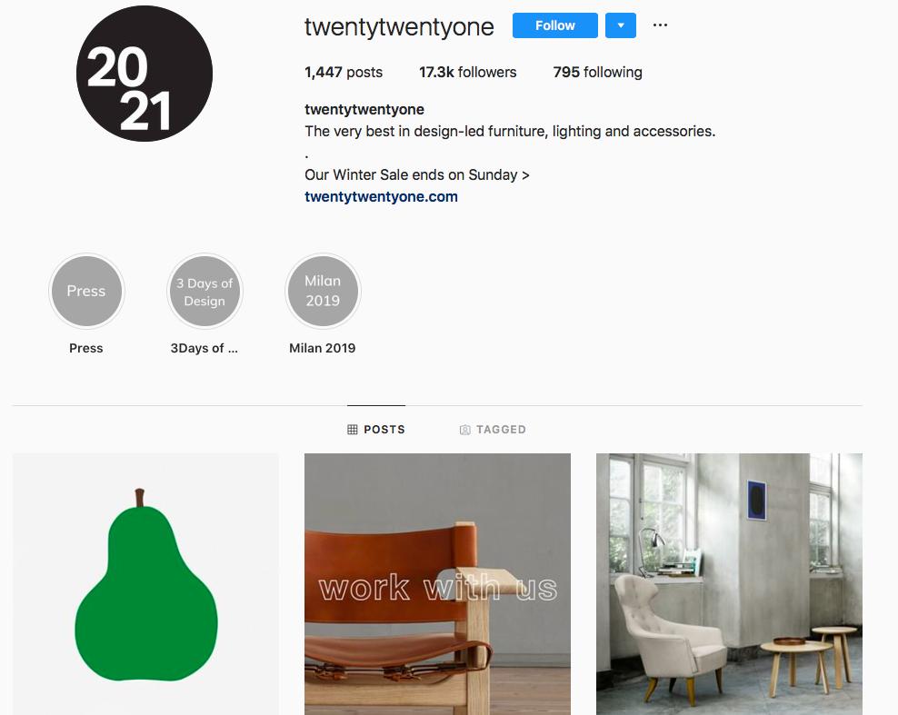 twentytwentyone on Instagram