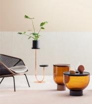 Miniforms-Mastea-blown-glass-coffee-table-in-rust