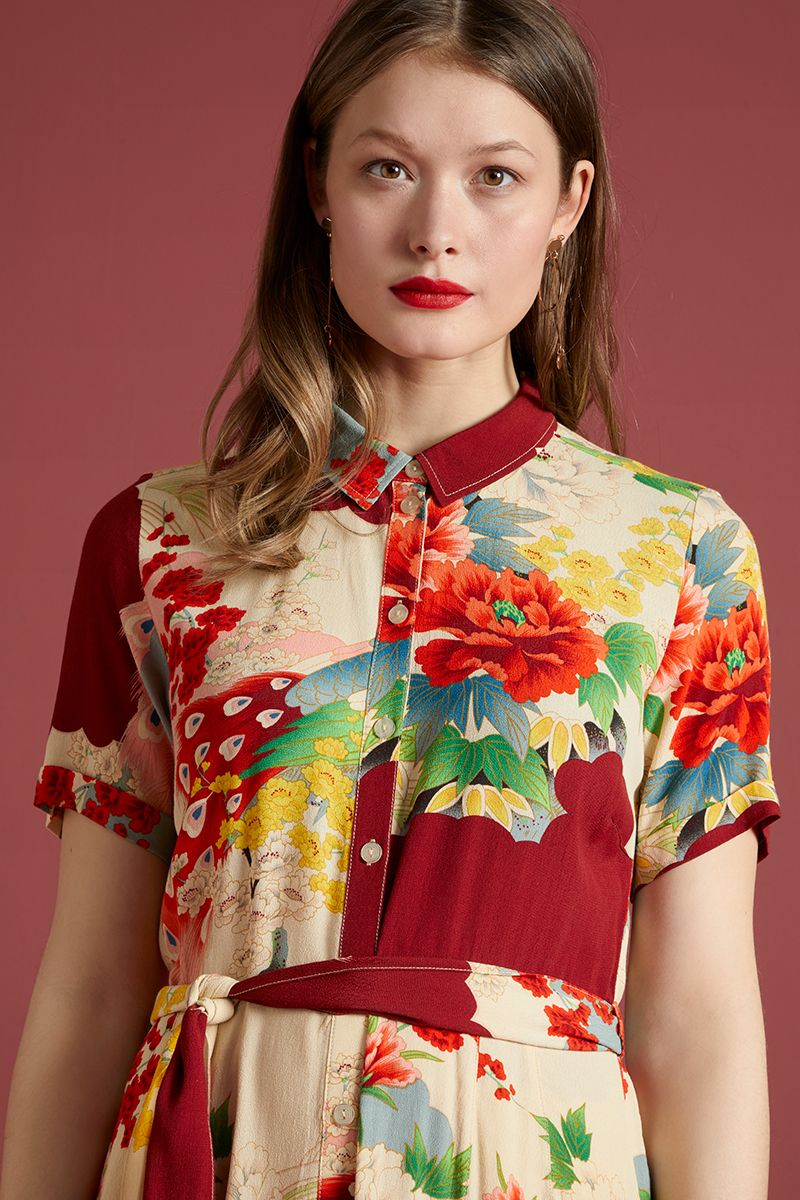 indie-edinburgh-rosie-sesame-midi-dress-closeup