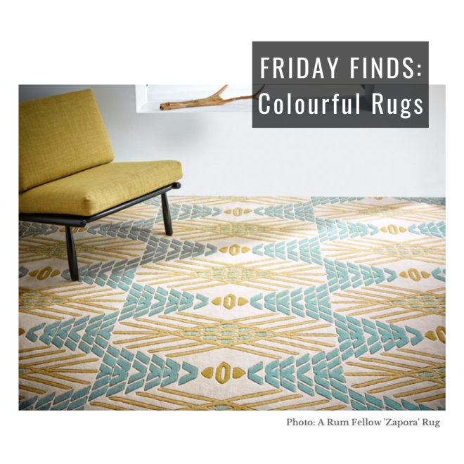 Liznylon-Designs-Friday-Finds-Colourful-Rugs-with-Rum-Fellow-Zapora-rug