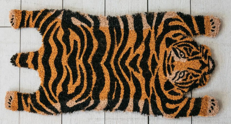 Graham-Green-tiger-doormat-in-coir